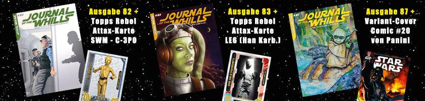 """Journal of the Whills - Nachbestellungen mit """"Extras"""""""